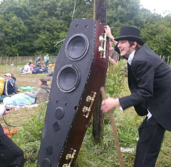Soundsystem in a Coffin