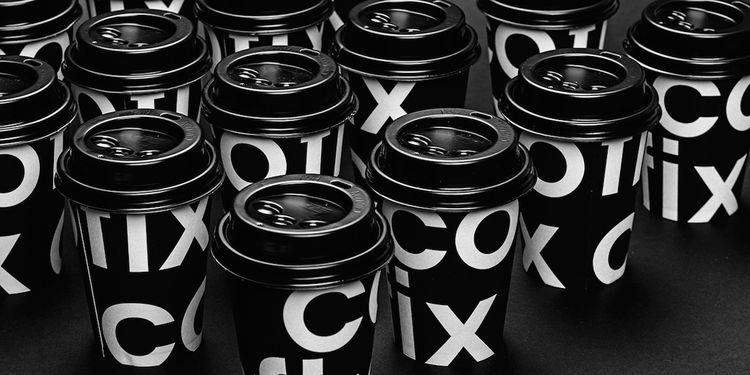 Typographic Coffee Branding