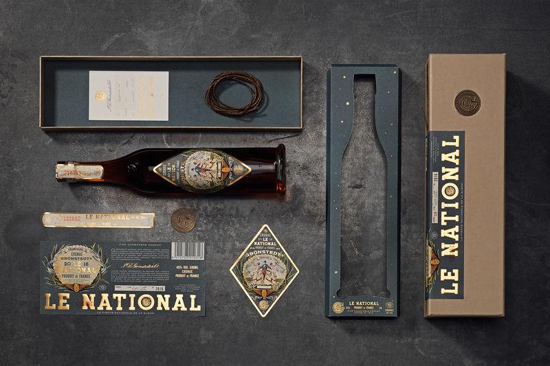Heritage Cognac Branding