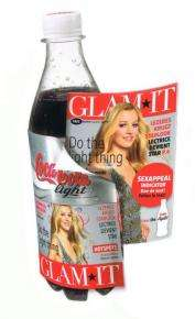 Coke and GLAM*IT to Create Europes First Magazine on a Bottle
