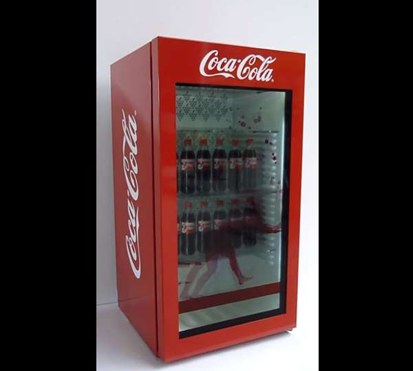 Animated Soda Dispenser Displays