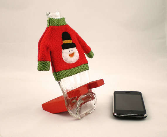 cola bottle iphone stand
