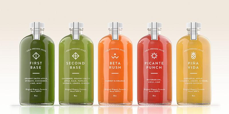 Raw Juice Labratory Branding