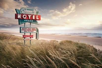 Motel-Mimicking Camping Ads