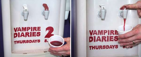 Blood-Filled Water Coolers