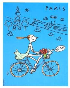 Bright Parisian Greetings