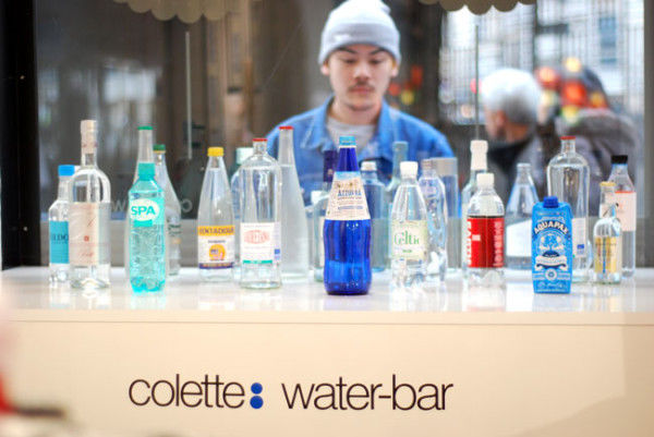 Fashionable Water Bar Menus
