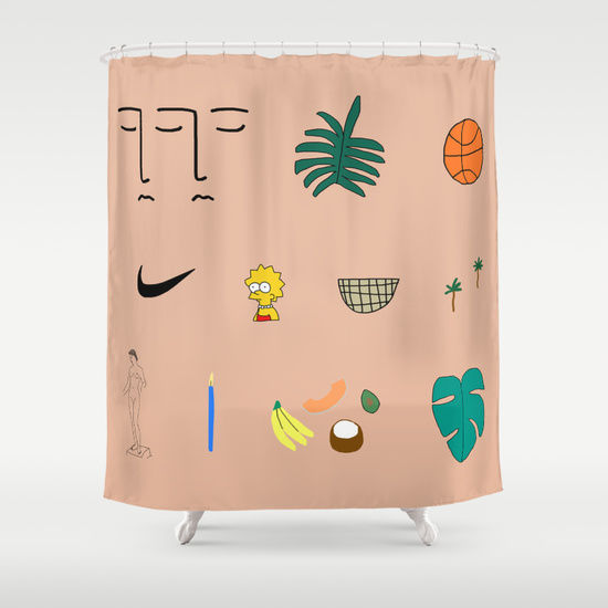 Collaborative Art Shower Curtains