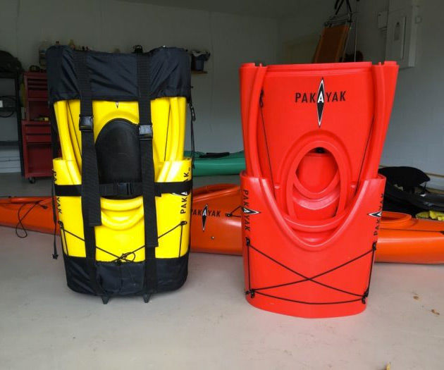 Packable Kayak Knapsacks