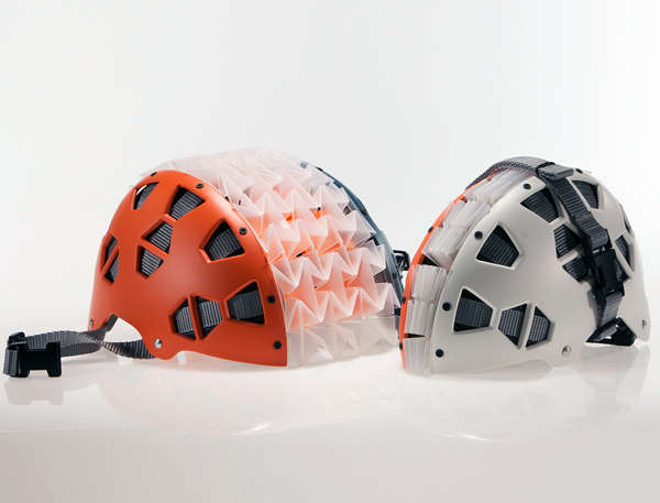 Collapsing Bike Helmets