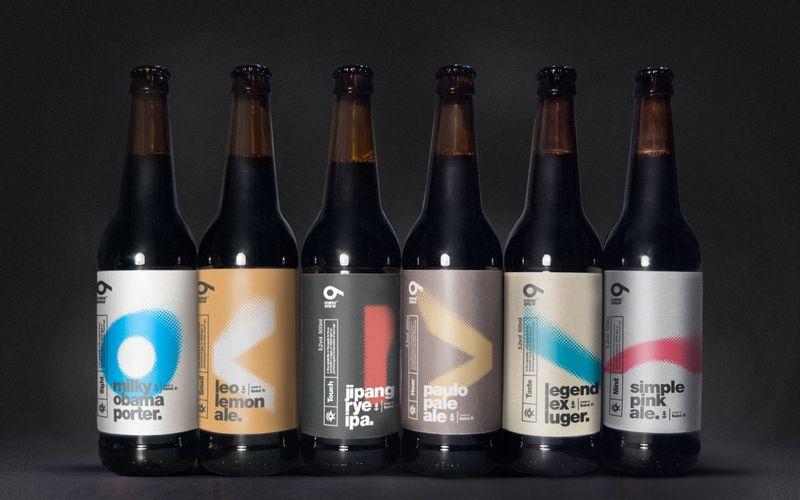 Pixelated Beer Branding