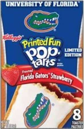 college football Pop-Tarts