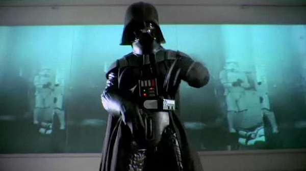 Rapping Darth Vaders