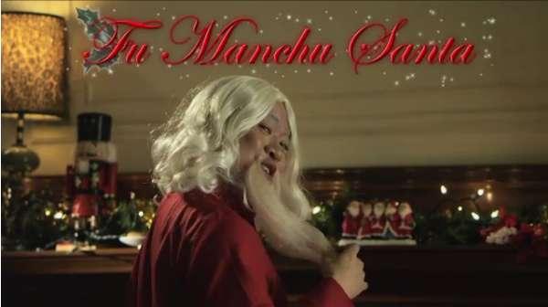 Hair-Swapping Santa Skits