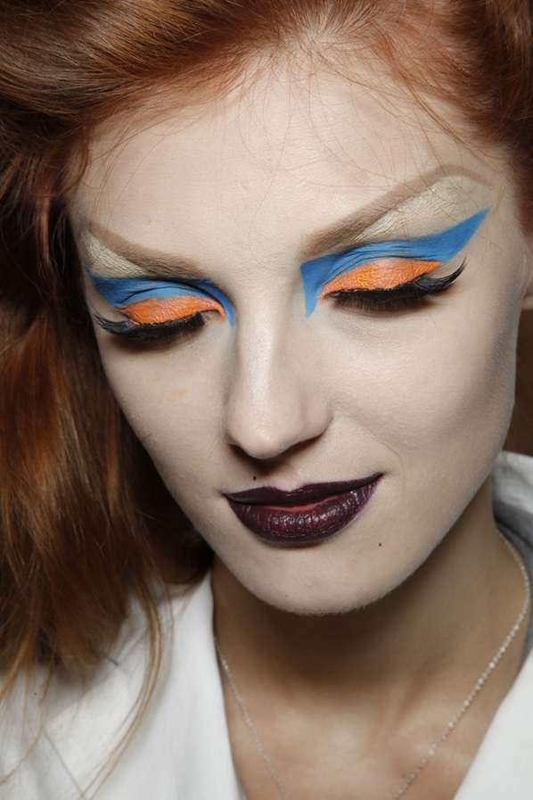 Color-Blocked Makeup