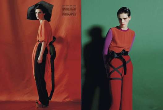 Vibrant Eclectic Editorials