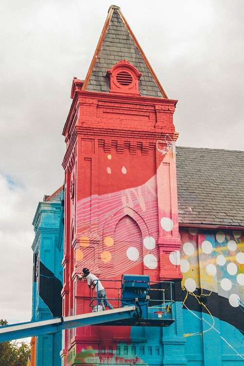 Kaleidoscopic Church Makeovers