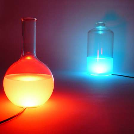 Color Light Vases