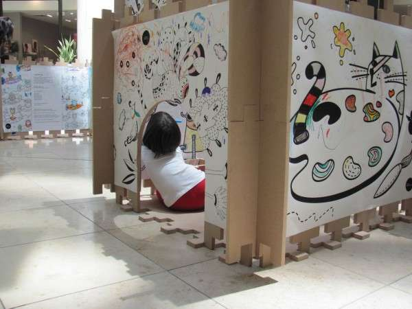 Children-Interacting Art Installations