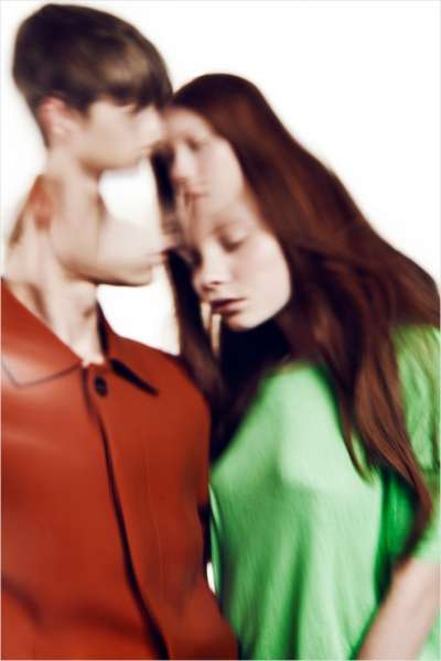 Distorted Couple Photography