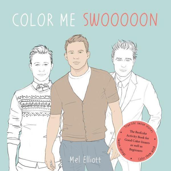 Hunky Celeb Coloring Books