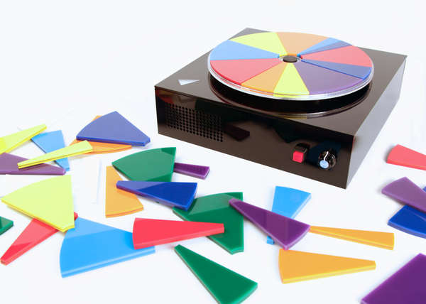 Color Wheel Turntables