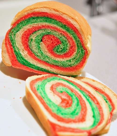 Holiday Spiral Loaves