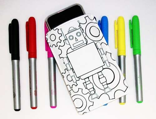 color your own case
