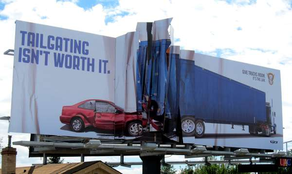 Colorado State Patrol Billboard