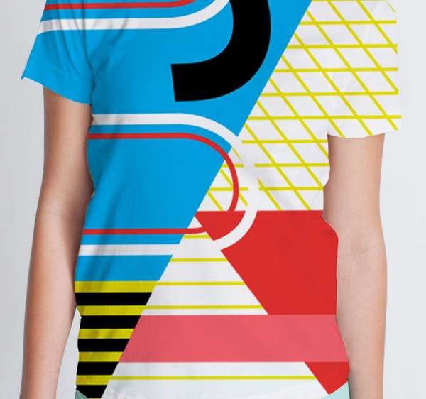 Colorblock T-shirt