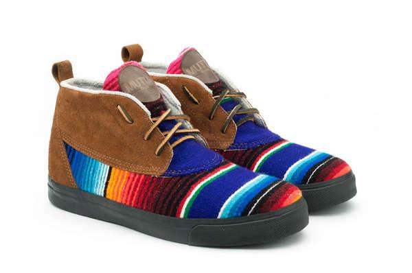 Technicolor Trekking Boots