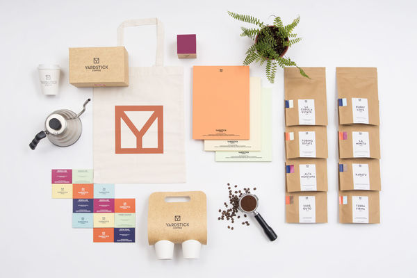 Clinical Colorful Coffee Branding