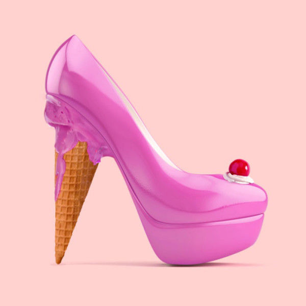 Cake Pop High Heels