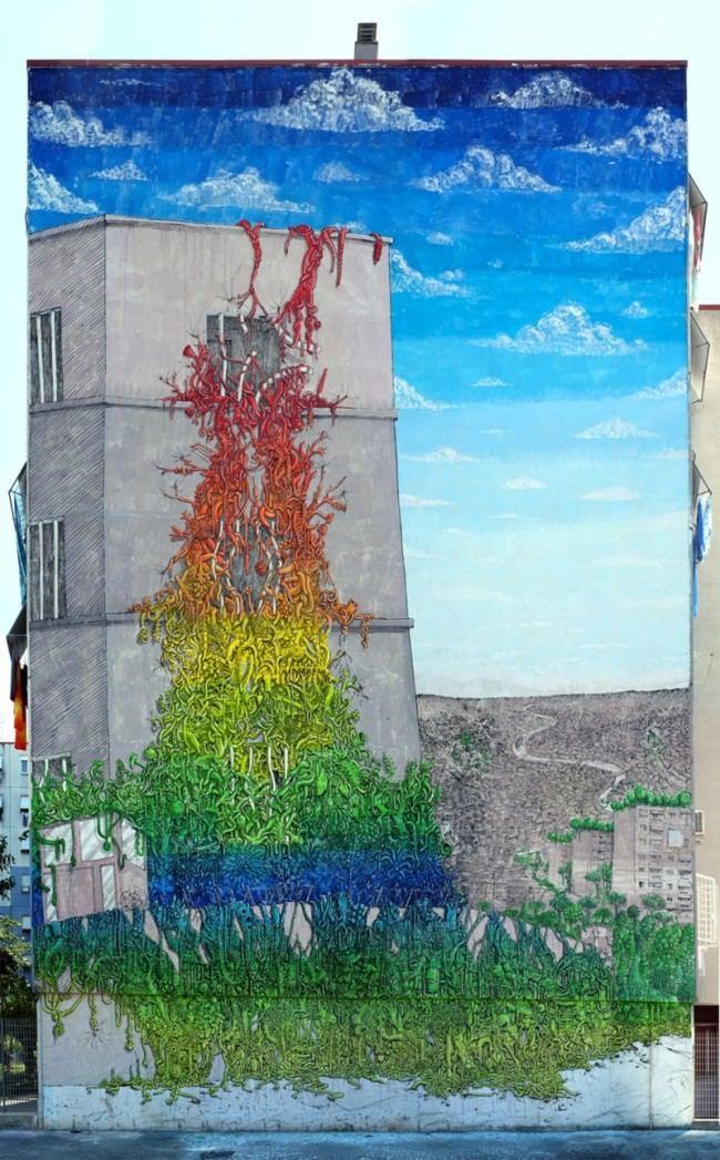 Seven-Storey Murals