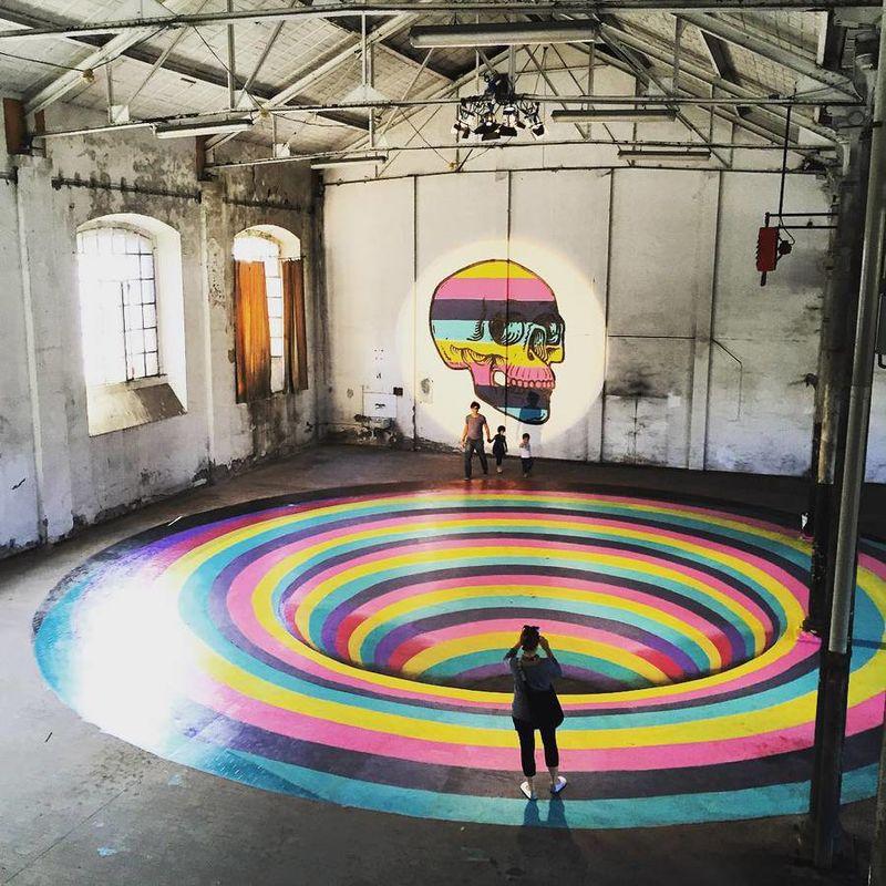 Deceptive Technicolor Installations