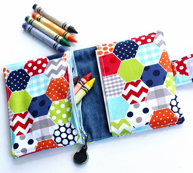 Travel Coloring Wallets