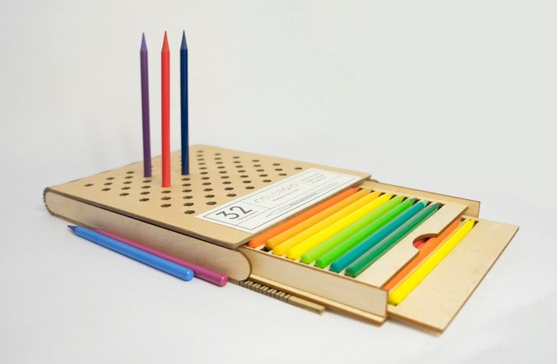 Color Pencil Packaging