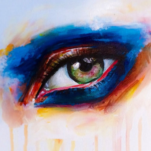 Makeup-Themed Art Exhibitions