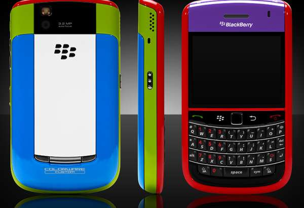 colorware for the blackberry bold 9650