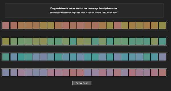 Colour IQ Tests