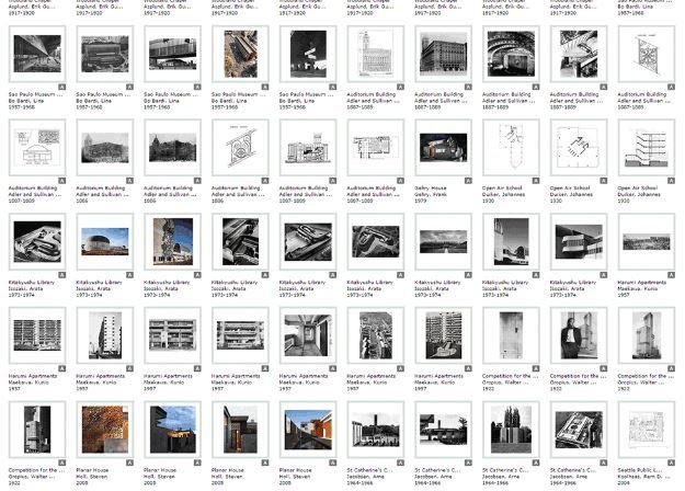 Vast Architectural Image Galleries