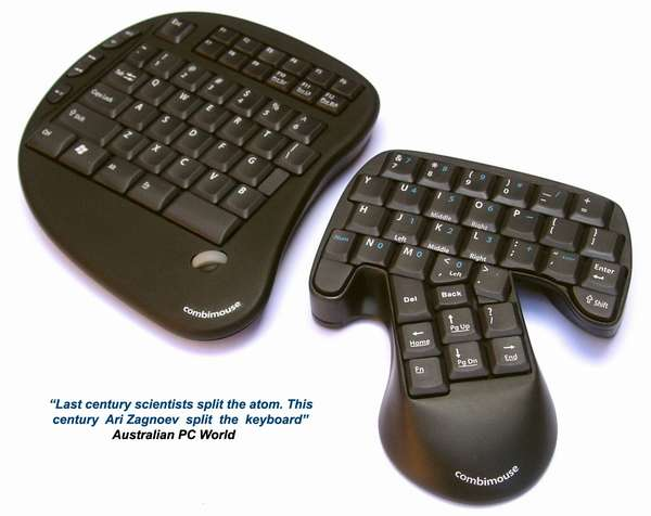 Combination Keyboard and Mouse