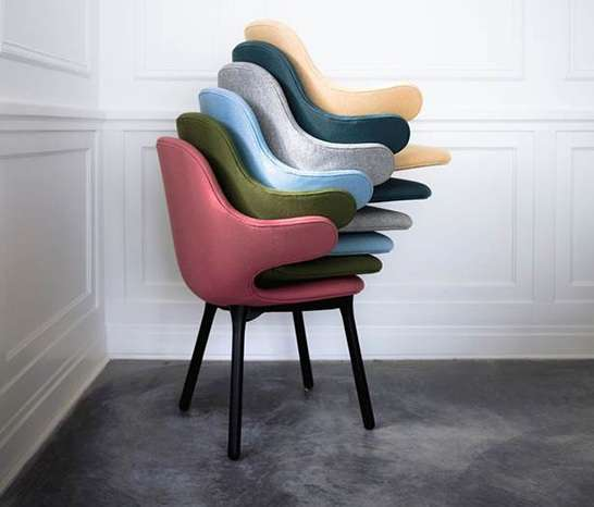 Colorfully Huggable Seating