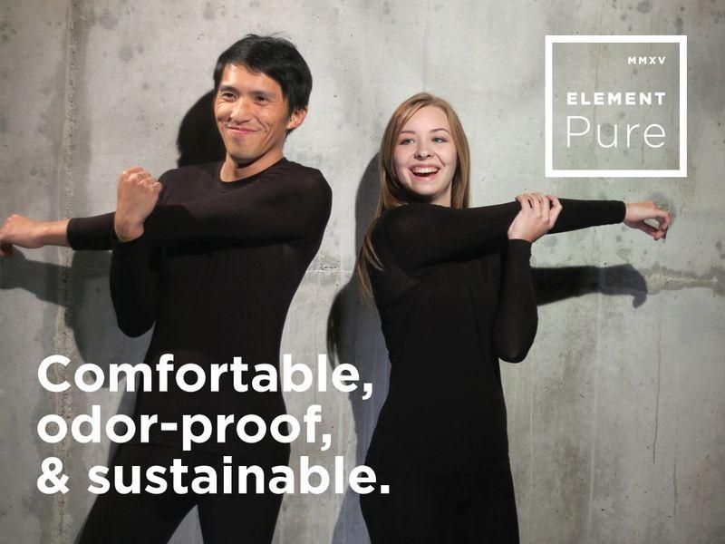 Odor-Proof Nanofiber Clothing