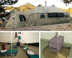 Luxurious Multi-Person Tents