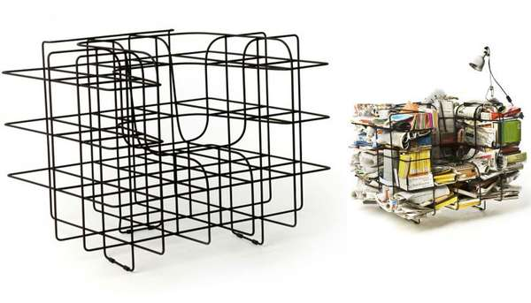 Wiry Storage Seating