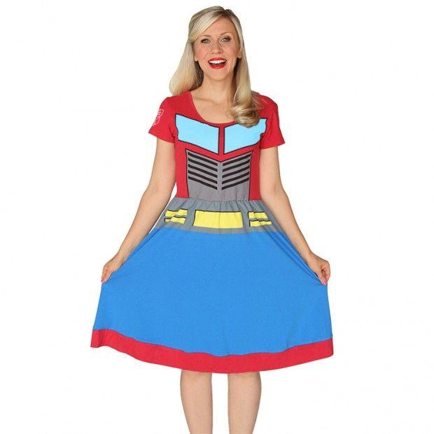 Girly Robot Dresses