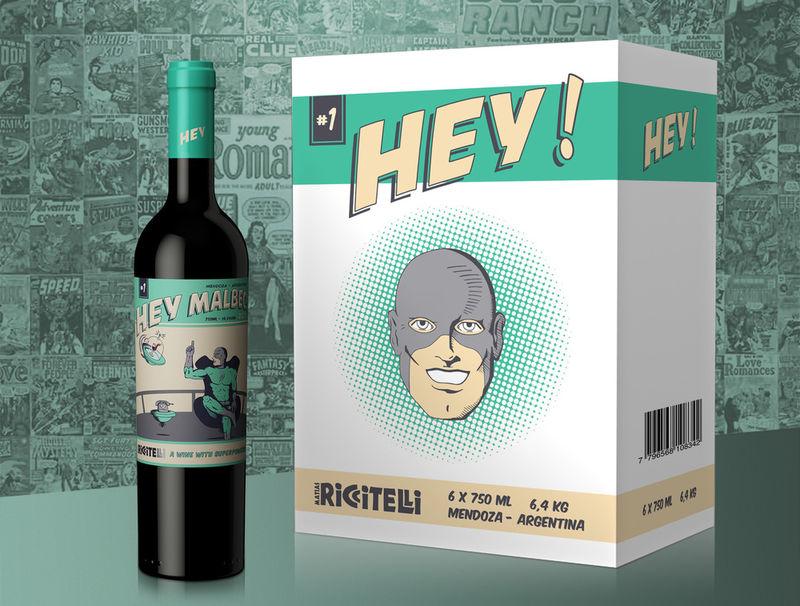 Superhero Inspired Wines Quot Comic Book Wine Quot