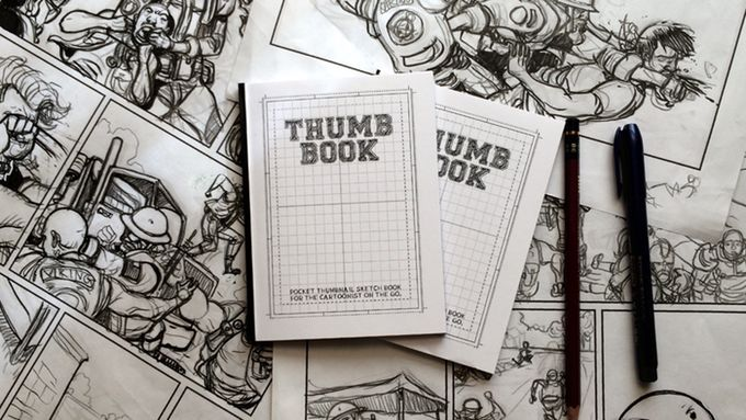 Pocket Comic Sketchbooks