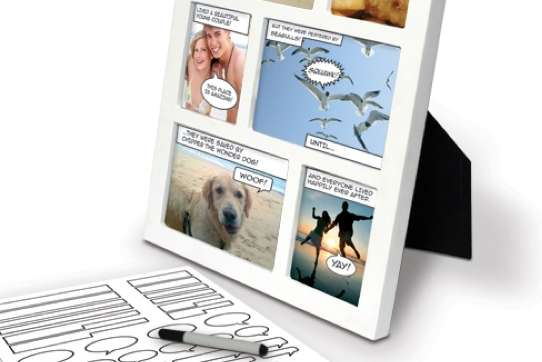 Captioned Photo Frames